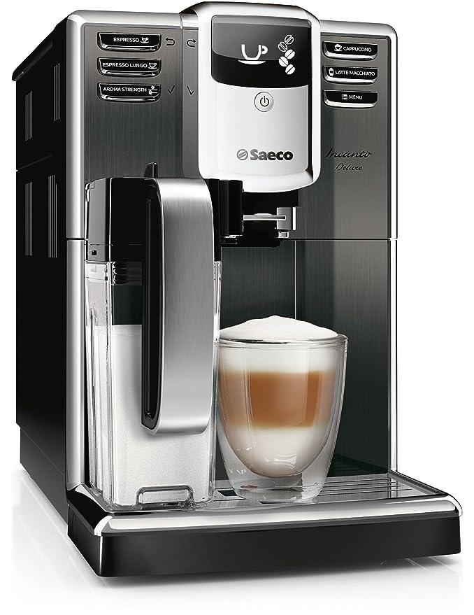 Saeco Incanto HD8922/01 - Cafetera (Independiente, Máquina espresso, 1,8 L, Molinillo integrado, 1850 W, Negro, Acero inoxidable): Amazon.es: Hogar
