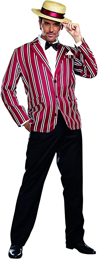 Dreamgirl Men's Good Time Charlie 1920s Style Costume