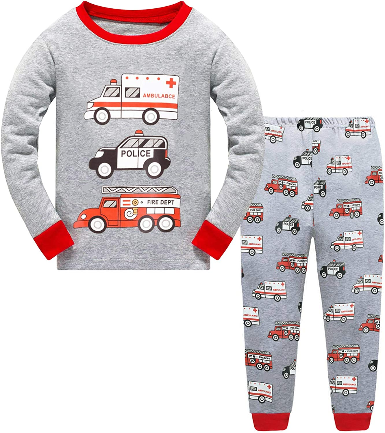 4-5 /& 5-6 years Boys Printed Long Sleeve T shirt Ages 2-3 3-4