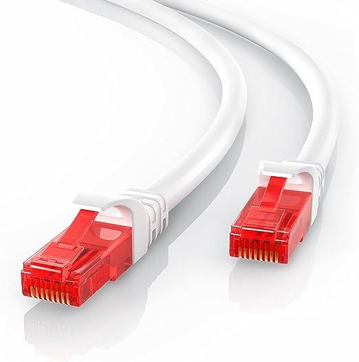 CSL - 10m Cable de Red Gigabit Ethernet LAN Cat.6 RJ45-1000Mbit s: Amazon.es: Electrónica