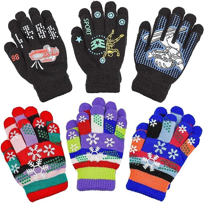 Kids Magic Stretch Gloves