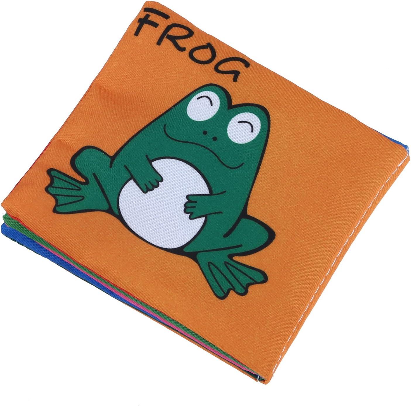 Zinniaya Beb/és reci/én Nacidos Libro de Tela port/átil Educativo temprano Libros Suaves Coloridos Desarrollan Inteligencia Juguetes multifuncionales