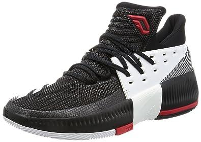 Schuhe Weiß Rot Schwarz Herren D Lillard III 3 Einzigartig Designed