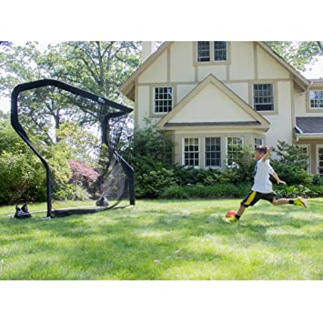 Delicieux The Net Return Backyard Soccer Goal Net And Rebounder