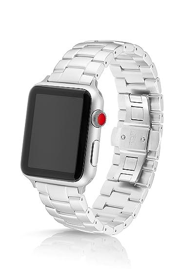 68efb9ea5d6 Amazon.com  JUUK 42 44mm Silver Velo LT Premium Watch Band Made for ...