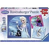 Ravensburger Disney Frozen 3x 49pc Jigsaw Puzzles