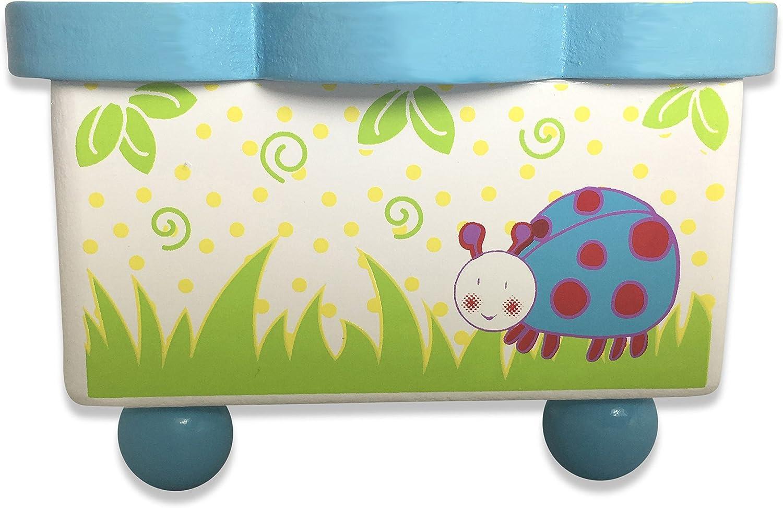 Slimy Toad Holz Spieluhr Spieldose tanzende kleine K/äfer Bunte Spieluhr aus Holz f/ür Kinder
