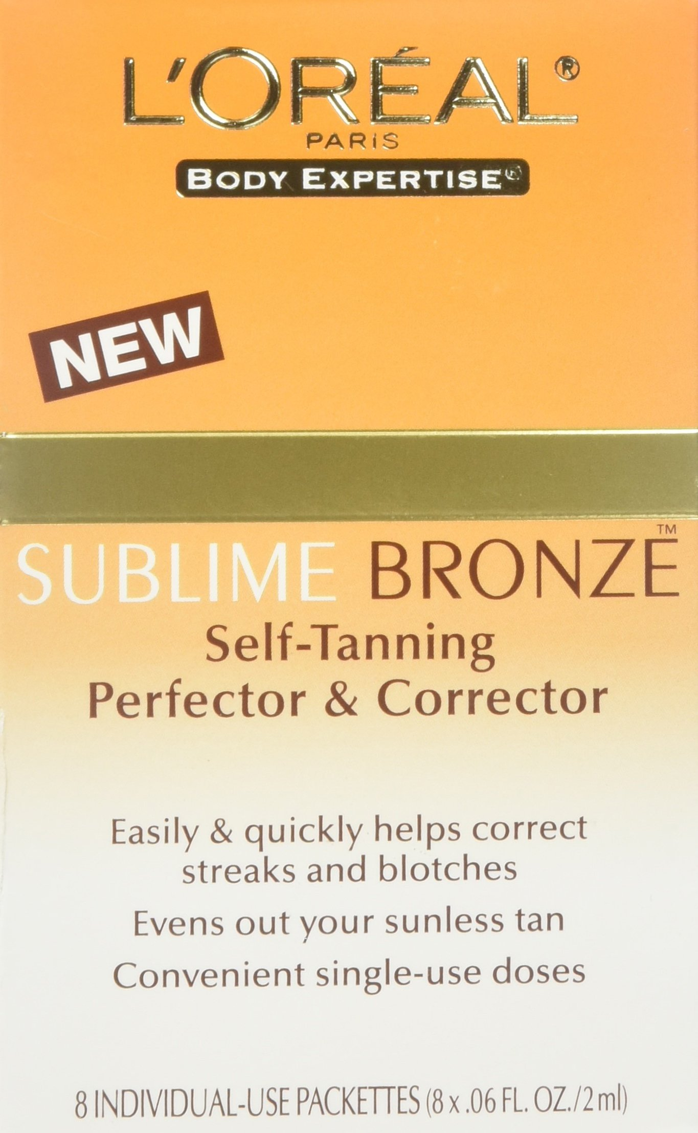 L'Oreal L'oreal sublime bronze self-tanning perfector and corrector duo pack, 0.06oz, 0.06 Ounce by L'Oreal Paris (Image #1)