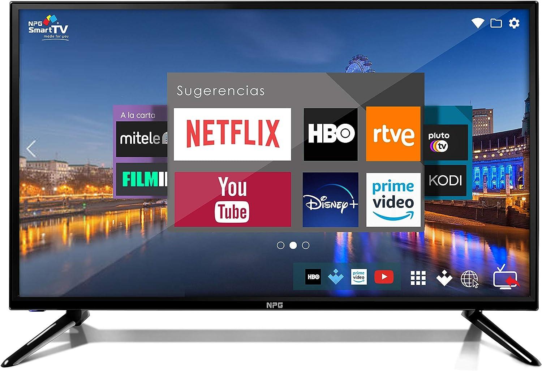 32 Zoll NPG Smart TV Android HD WiFi PVR DVB-T2 Quad Core
