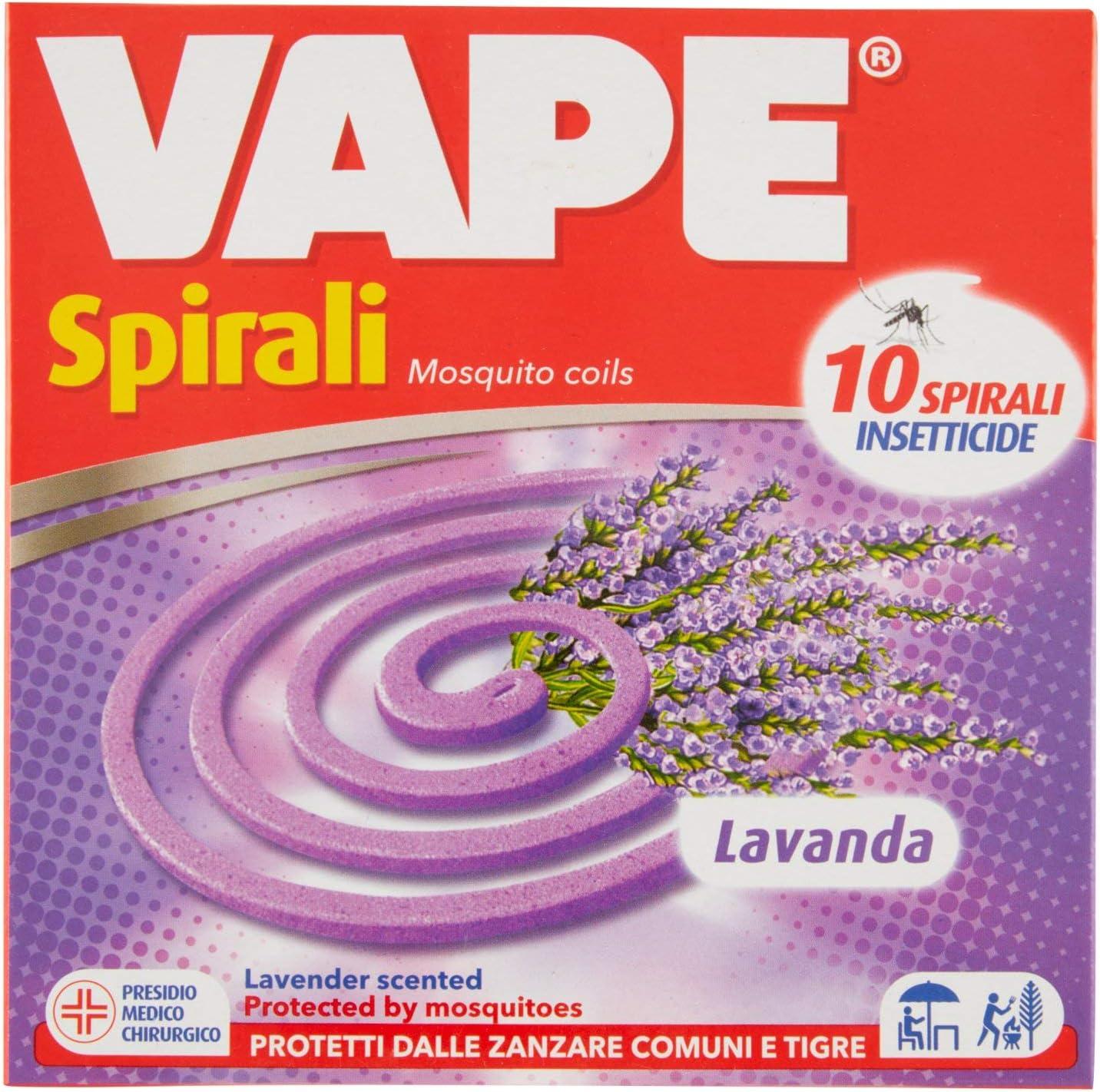 Espirales Vape - Caja de10 unidades – [Paquete de 4 cajas]: Amazon.es: Salud y cuidado personal