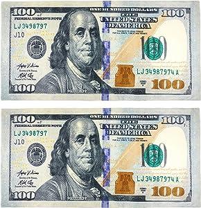 Kaufman - New 100 Dollar Bill Printed Beach Towel (106028) - 2 Pack Set