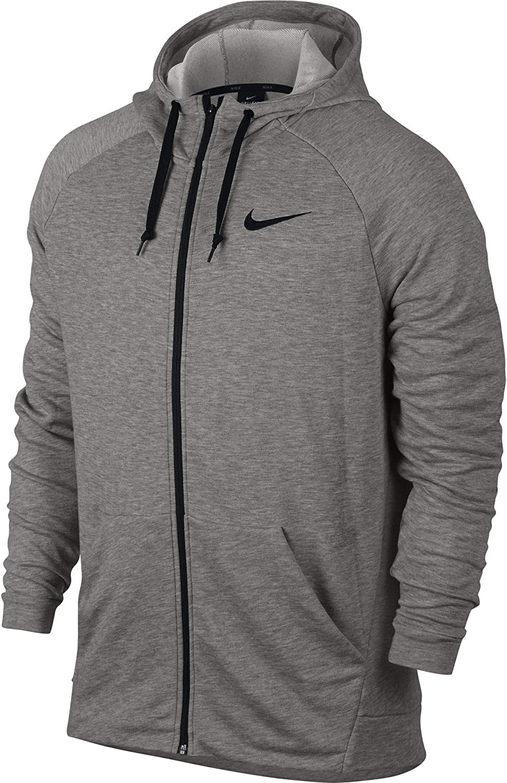 Nike Men's Dry Training Full Zip Hoodie blackwhite 860465 010