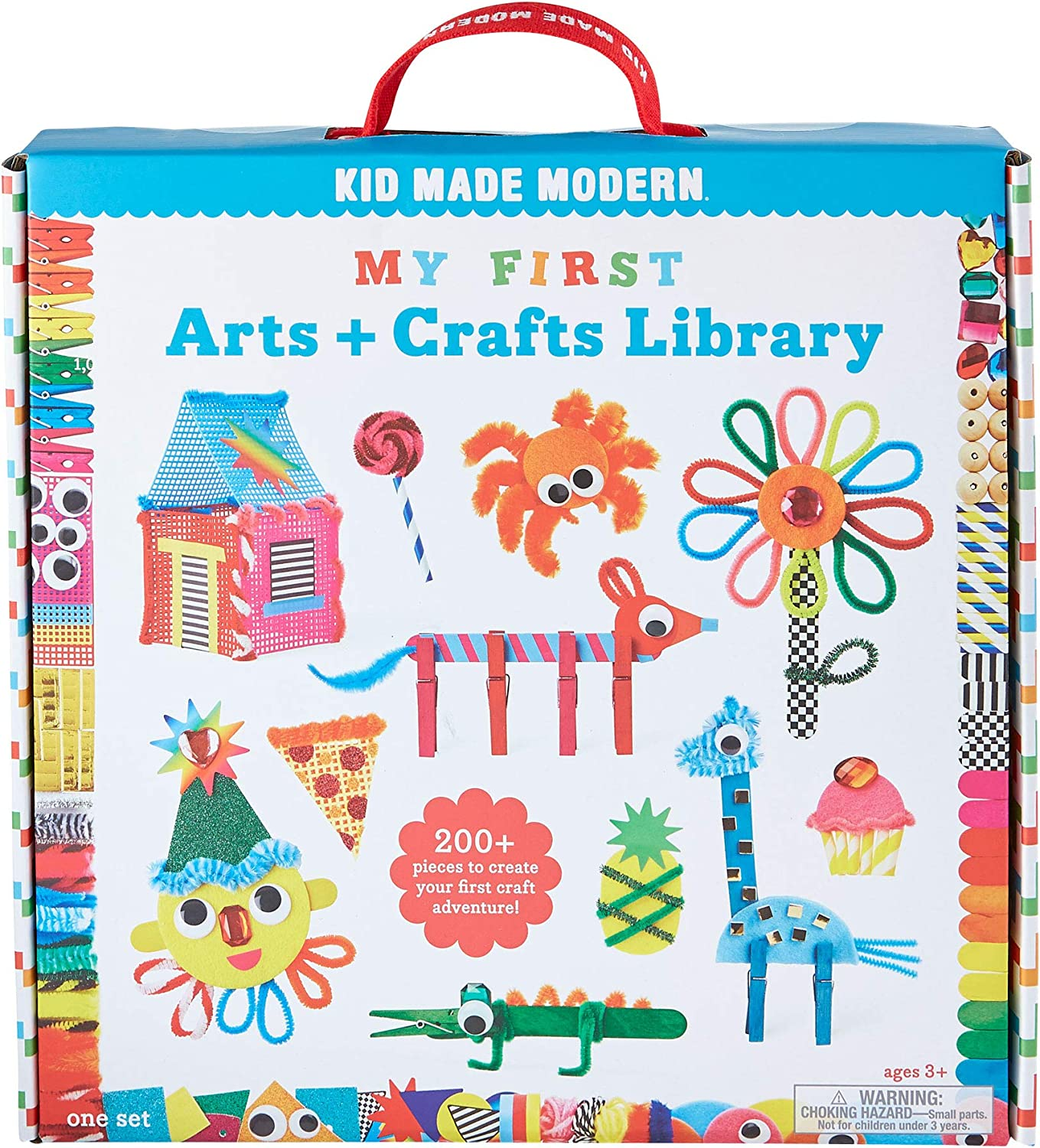 Kreative Kids Giant Jumbo Art and Crafts Accessories Jar Over 100 Pieces