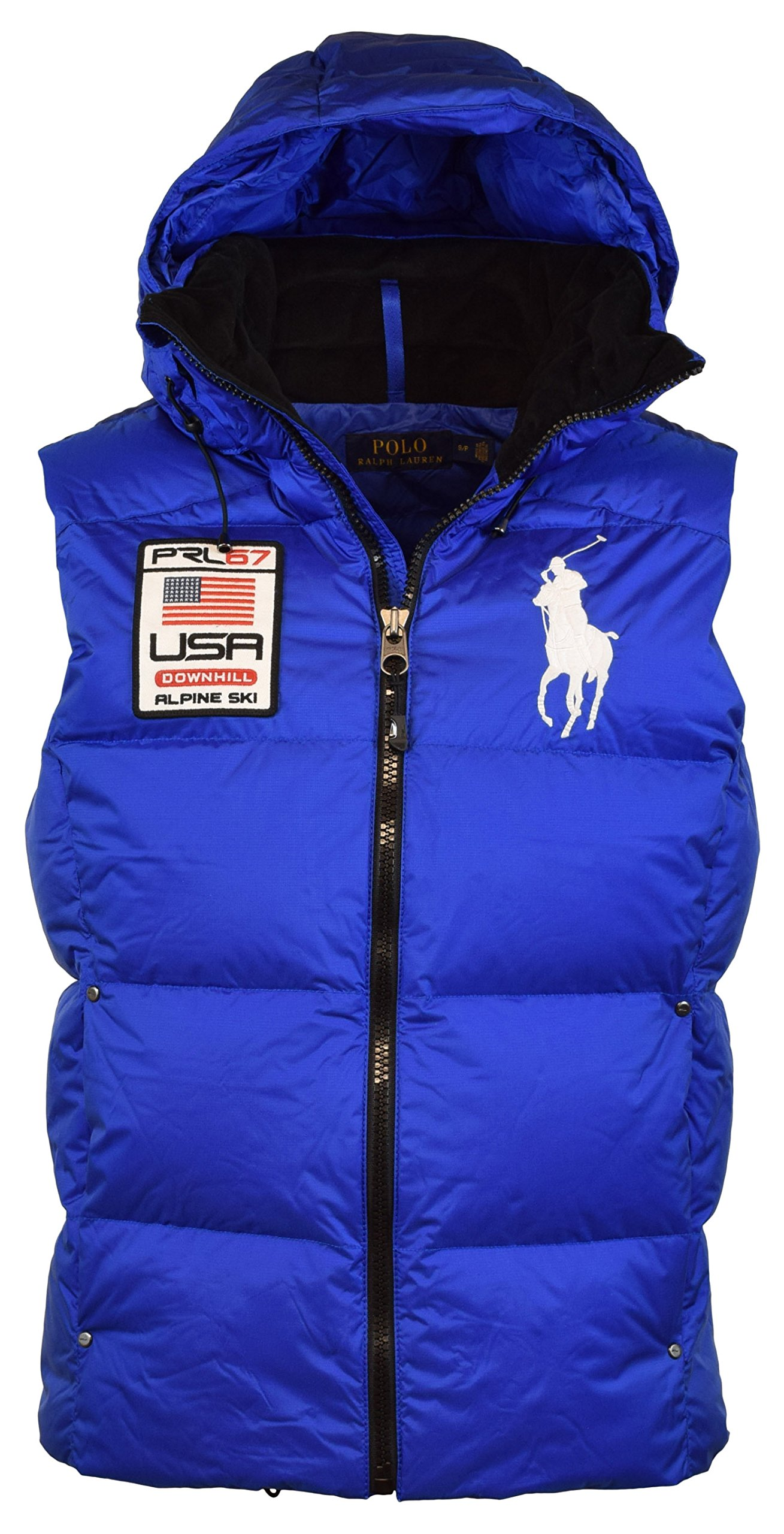 Lauren Polo Mens Ski Galleon Alpine Ralph Puffer Patch Big Pony PkwOn0