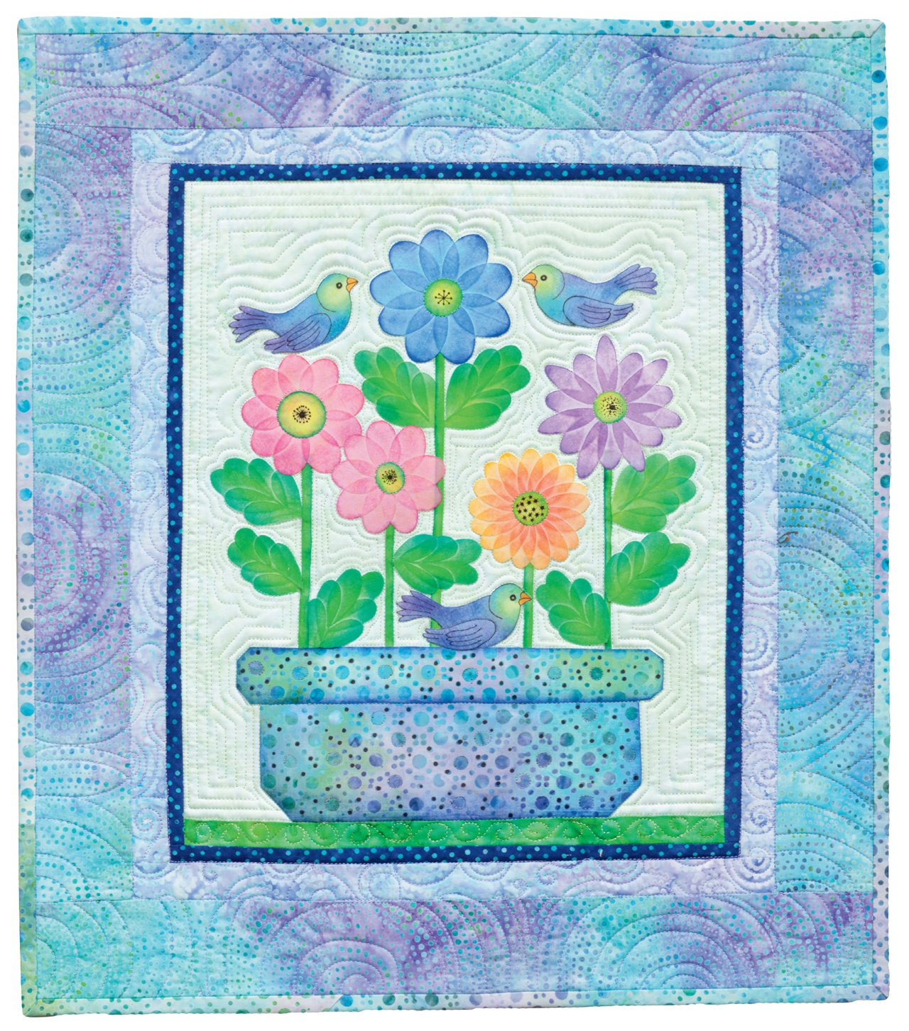 Creative Quilts from Your Crayon Box: Melt-n-Blend Meets Fusible Applique by That Patchwork Place (Image #4)