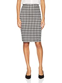 a7461a2cbf4 Star Vixen Women s Below-Knee Pencil Skirt with Back Slit