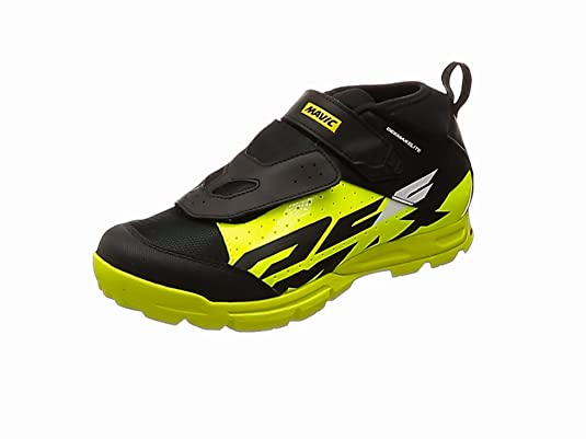 Mavic Deemax Elite - Zapatillas - Amarillo/marrón Talla del Calzado UK 9 / EU