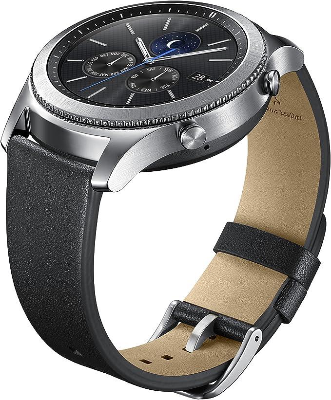 Amazon.com: Samsung Gear S3 SmartWatch Reemplazo de Banda ...