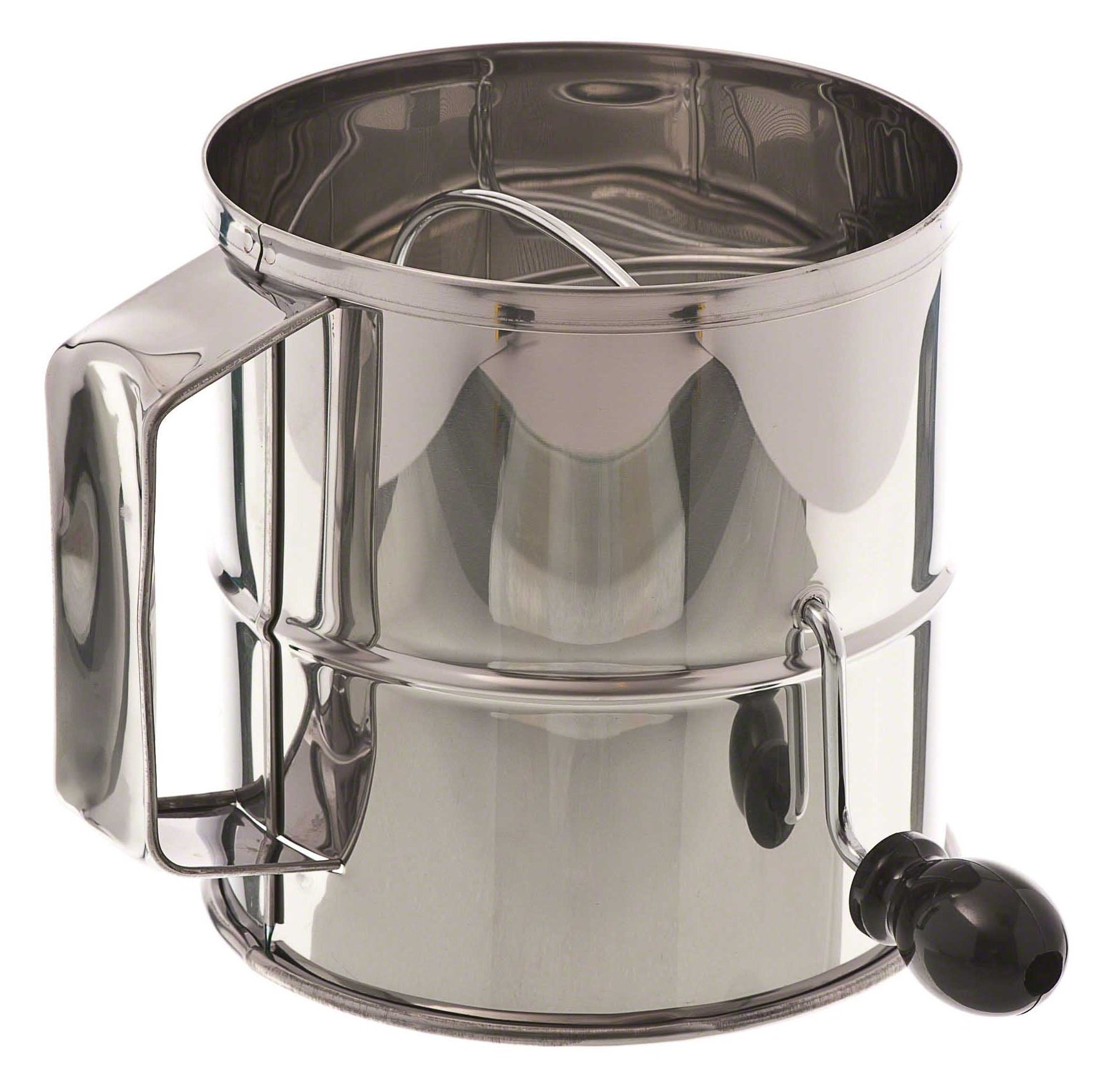 Browne (1260) 8-Cup Stainless Steel Flour Sifter