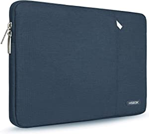 """Hseok 15.6-Inch Laptop Case Sleeve, Spill-Resistant Case for 15.4""""- 16"""" MacBook Pro and Most 15.6-Inch Dell Lenovo Asus HP Notebook,Dark Blue"""