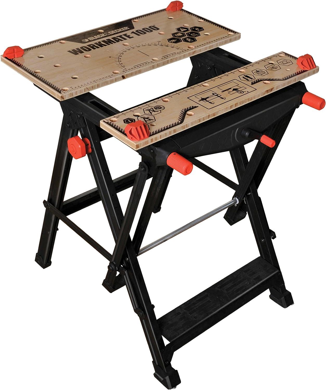 Black+Decker WM1000-XJ - Mesa de trabajo para rebajadoras