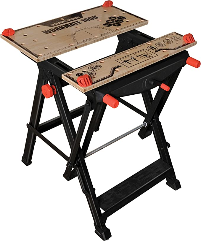 Keter Style Work Bench Portable Pliant Réglable Master table Pro /& 2 Pinces