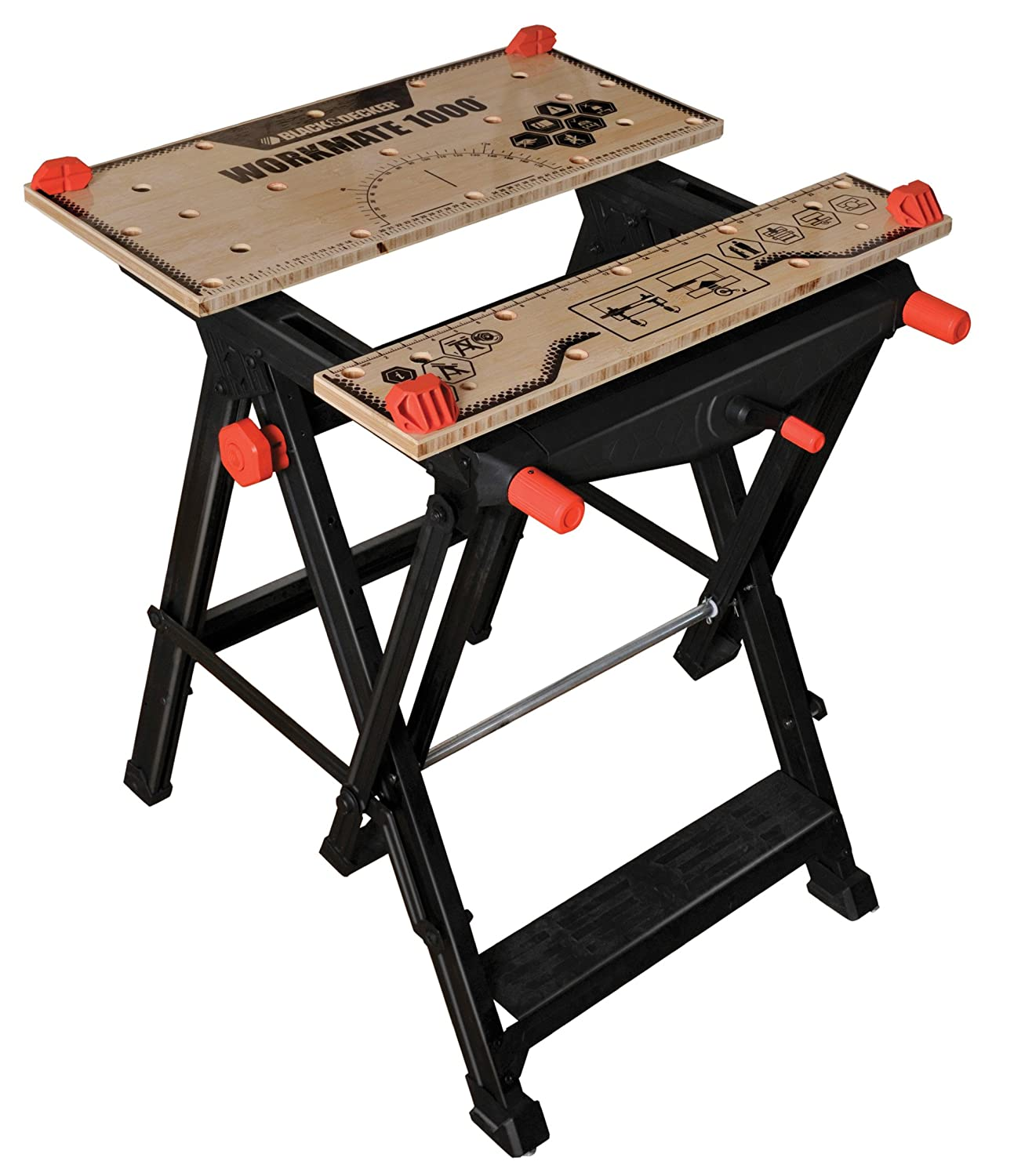 Folding table keter - Black Decker Workmate 1000 Wm1000 Xj Clamping Table