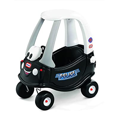 Little Tikes Cozy Coupe Tikes Patrol, Ride-On, Patrol Coupe: Toys & Games