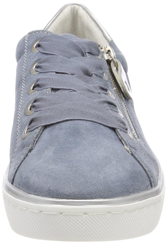 Remonte Damen R5501 R5501 Damen Sneaker Blau (Bleu/Argento) 2e4c32