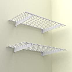 HyLoft 630 48-Inch By 24-Inch Wall Shelf, 2-Pack