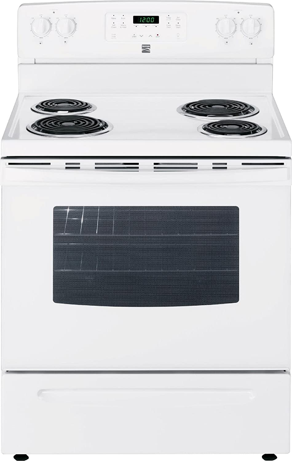 includes delivery and hookup -2295123 Front Control Electric Range ...