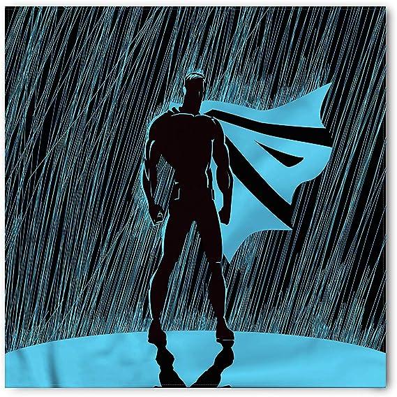 Soefipok Pañuelo de superhéroe, pose dramática de noche lluviosa ...