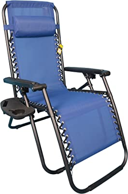 Backyard Expressions 906632 Anti-Gravity Chair, Blue