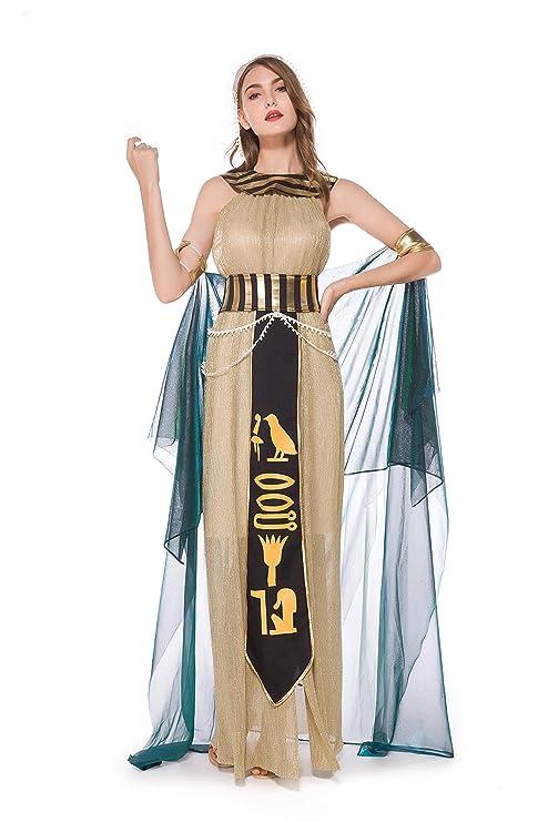 QianBianDie - Disfraz de faraón Egipcio para Adultos, para Hombres ...