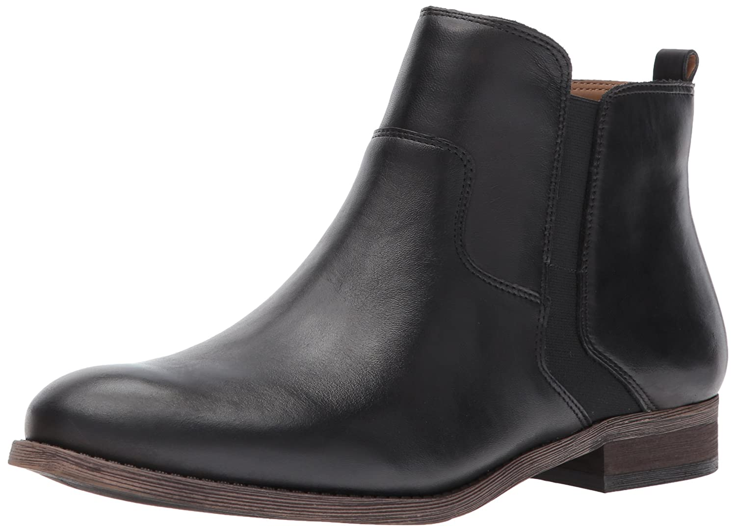 Franco Sarto Women's Hampton Ankle Boot B073H4CHPT 8.5 W US|Black
