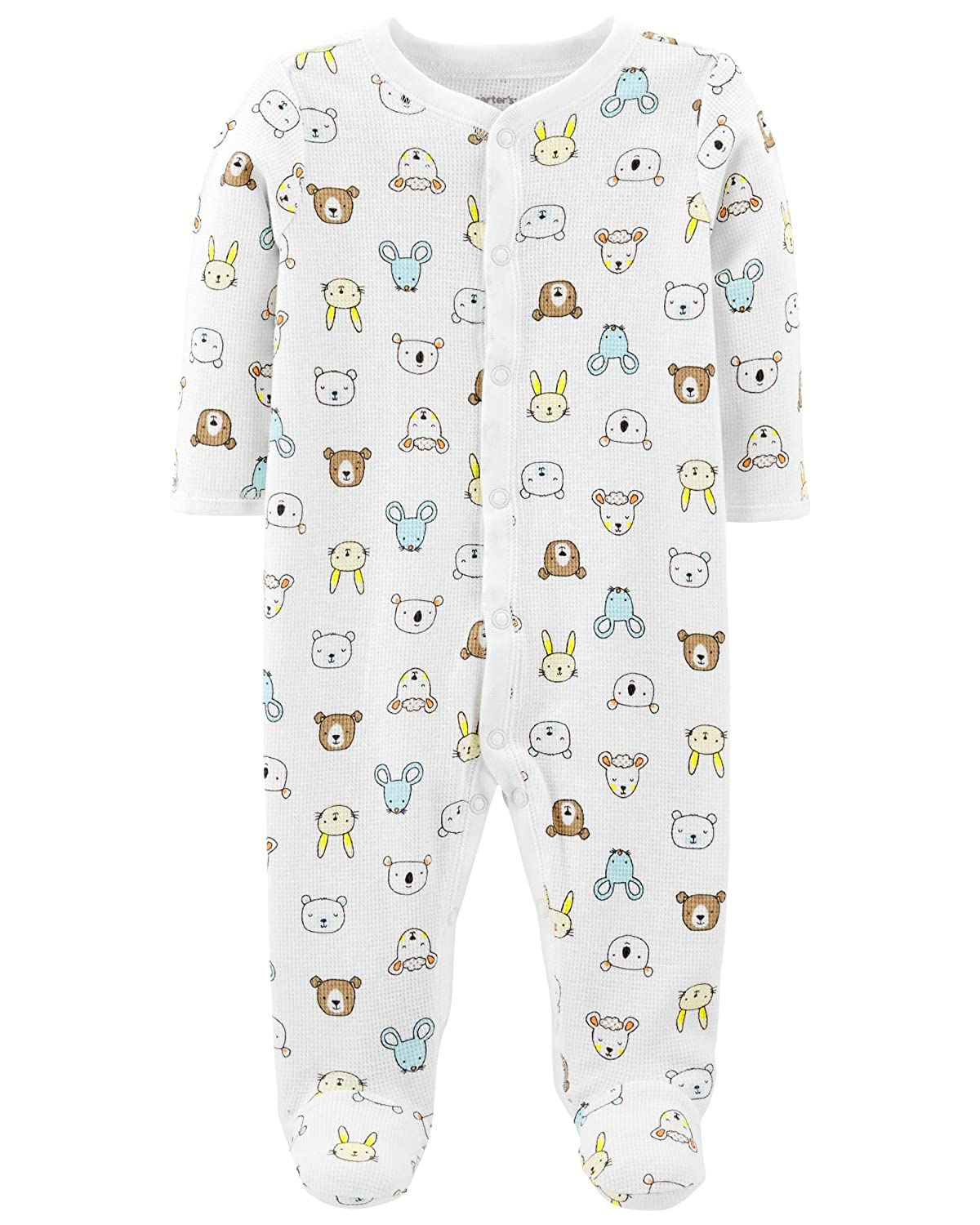 Carter's Baby Boys' 1 Piece Cotton Footed Sleepers Carters 321G196