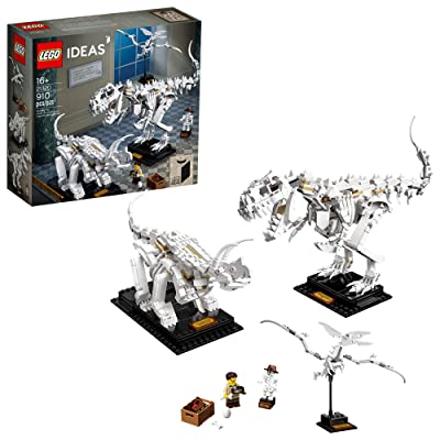 LEGO Ideas 21320 Dinosaur Fossils Building Kit (910 Pieces): Toys & Games