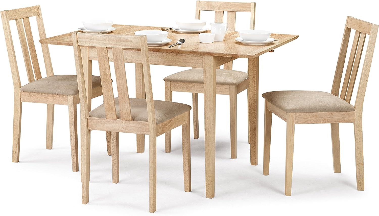 Julian Bowen Rufford – Mesa de Comedor Extensible con 4 sillas ...