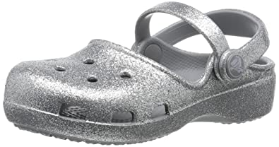 98abdd779 crocs Karin Sparkle Kids  Clog (Toddler Little Kid)