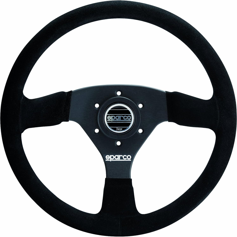 Sparco 015R368MSN Suede Steering Wheel