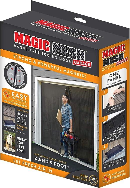 Lot de 2 Magie rideau porte maille magnétique Flying Bug Insect Ecran net
