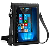 """12 Inch Tablet Case by USA Gear w/ Touch Screen & Adjustable Shoulder Sling / Display Strap - Works with Samsung Galaxy TabPro S , Microsoft Surface Pro 4 , Lenovo Ideapad Miix 700 & More 12"""" Tablets"""