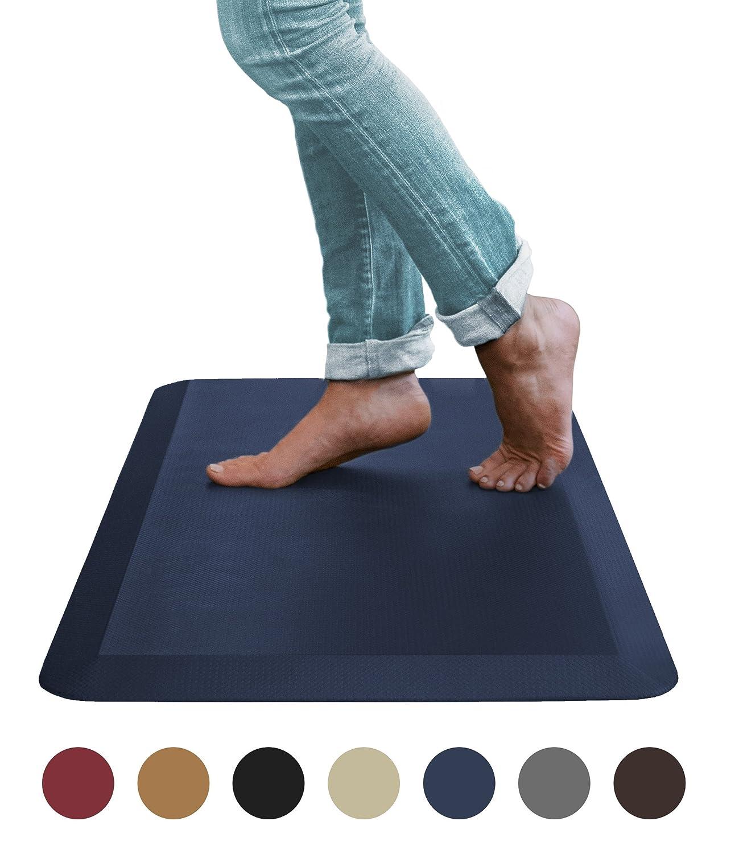 Sky Mats 疲労防止の快適フロアマット商用使用品質 立ち受付、キッチン、庭に最適足、膝、腰の痛み解消 20x32x3/4-Inch unknown B076L3L5GH 20x32x3/4-Inch,ライトブラウン