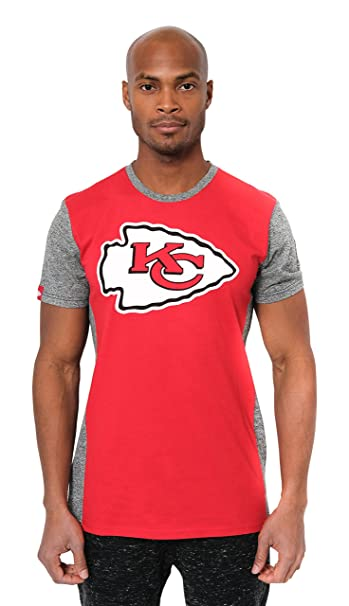 official photos 98fbf eb198 Ultra Game NFL Kansas City Chiefs Men's T Raglan Block Short Sleeve Tee  Shirt, Team Color, Red, Large
