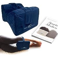 Almohada para las rodillas (azul marino) desarrollada por doctores - Cuña ortopédica…