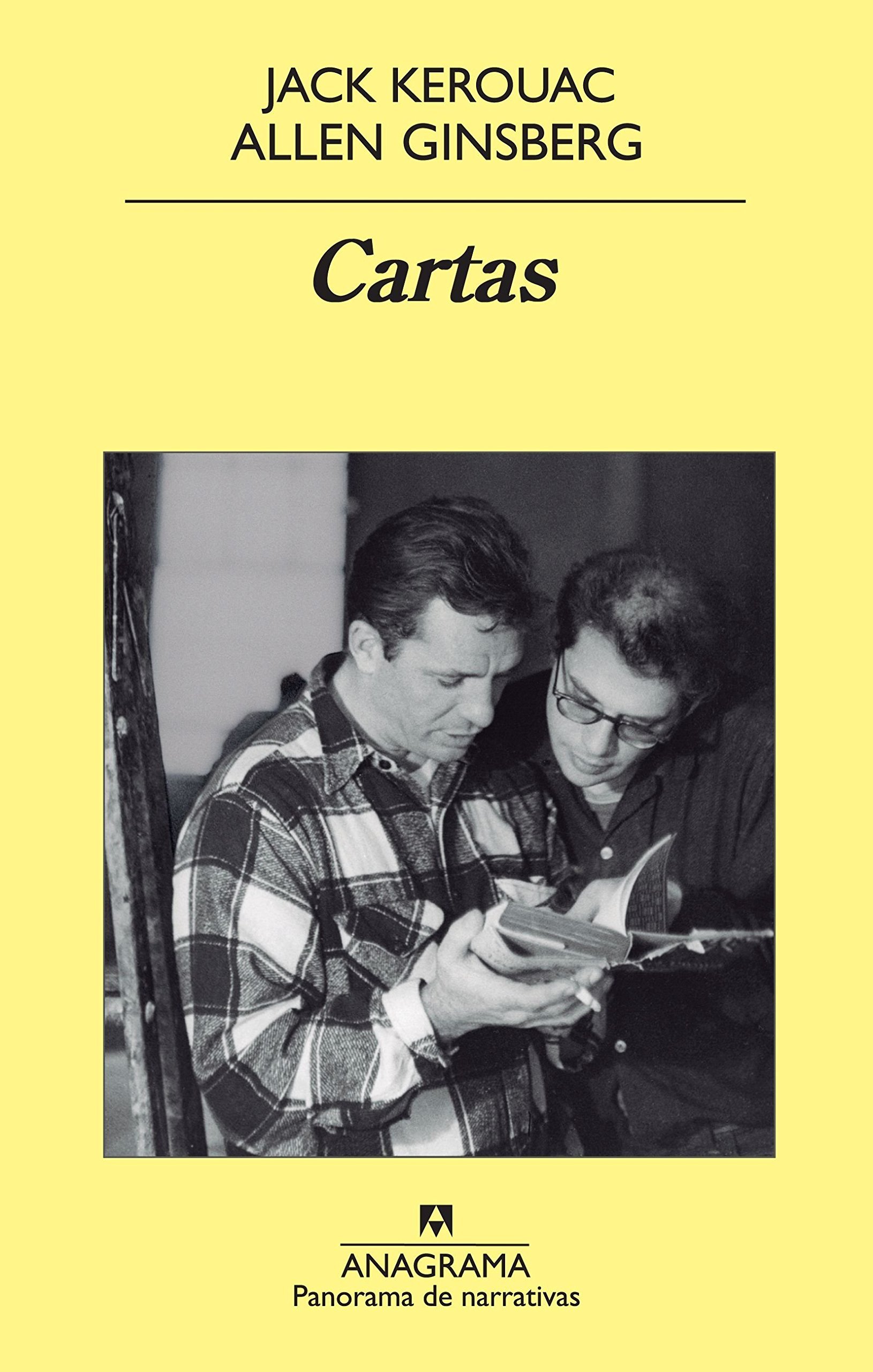 Cartas (Panorama de narrativas) Tapa blanda – 10 may 2012 Jack Kerouac Allen Ginsberg Bill Morgan David Stanford