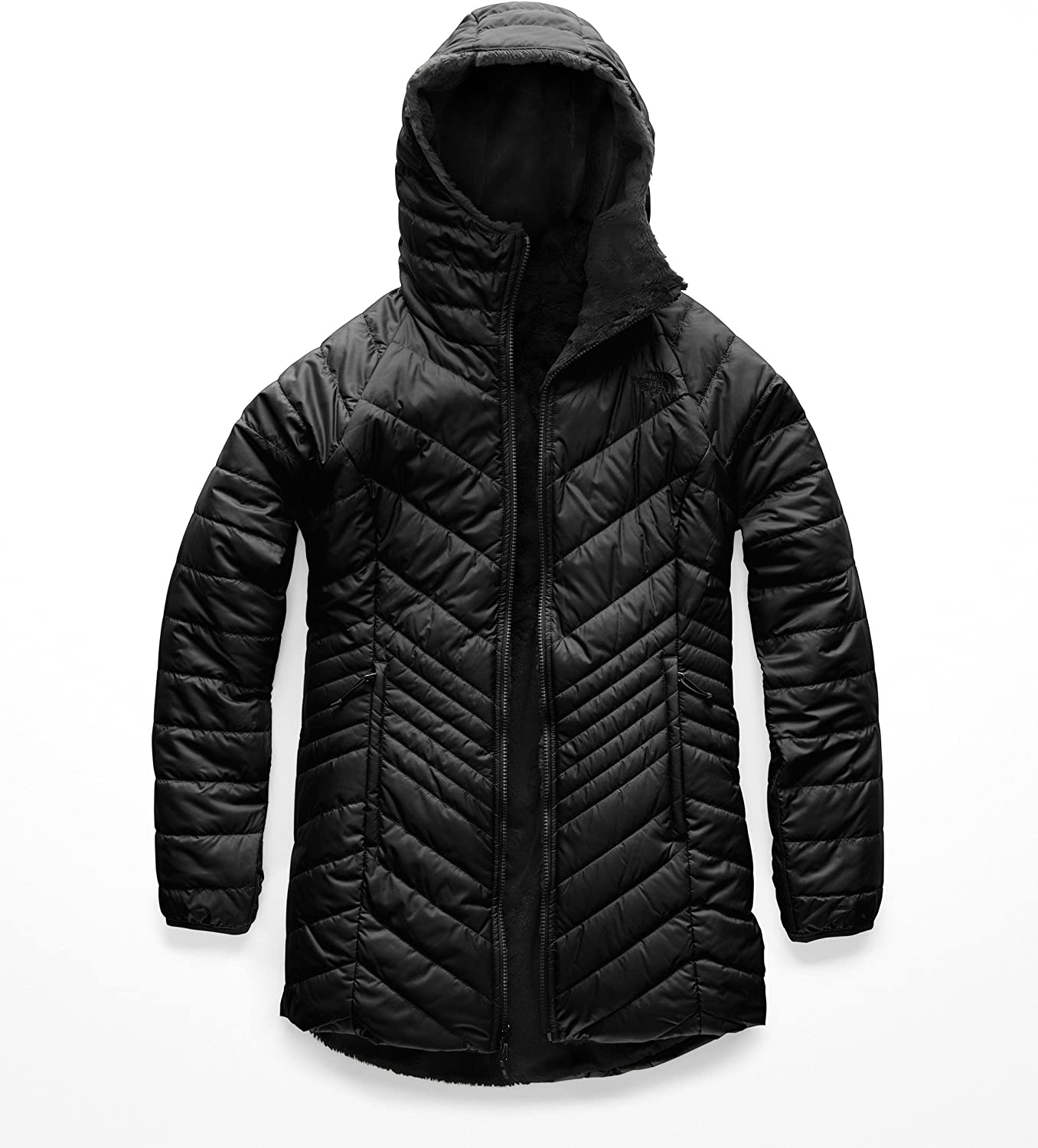 The North Face Women's Mossbud Insulated Reversible Parka: Clothing