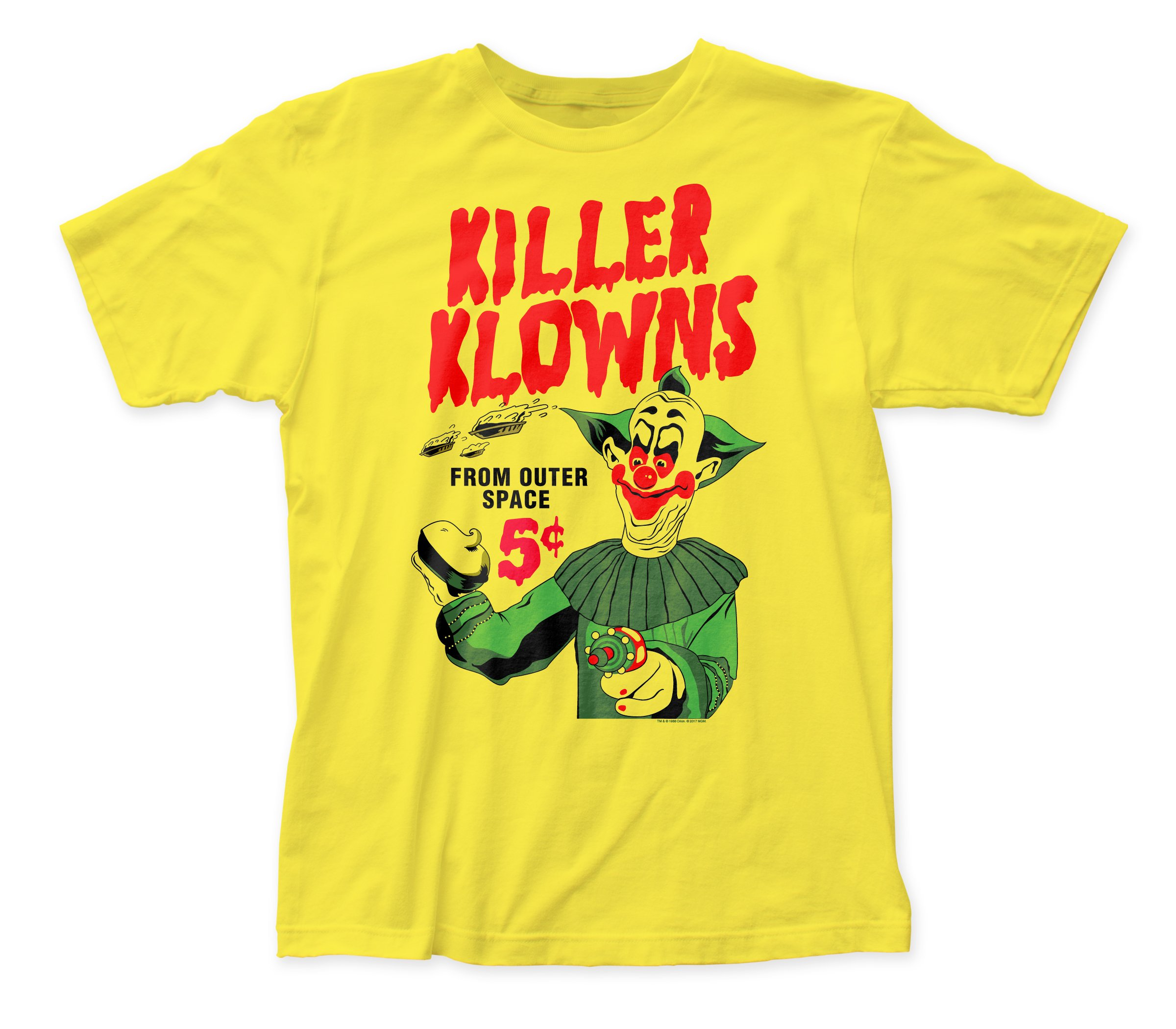 Killer Klowns 5 Pies Ted Shirts