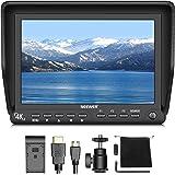 Neewer Monitor 7 pollici On-camera Schermo IPS 1920x1200 4K con HDMI Input e Output di Segnali 10 Bit per Reflex Digitali Videocamere (NW-S7) Batteria NON inclusi