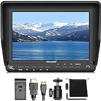 Neewer 7 Zoll 4K HD Kamera Feldmonitor mit HDMI Eingangs- und Ausgangssignalen 10-Bit IPS Bildschirm 1920X1200 Auflösung für DSLR Kamera Camcorder (Netzanschluss und Batterien Sind Nicht Enthalten)